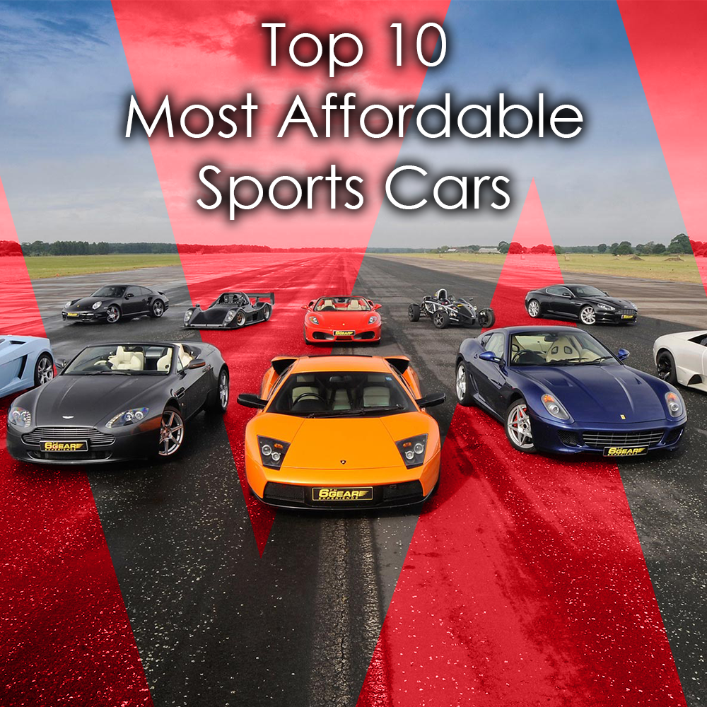 Best 10 Affordable Sports Cars of 2017