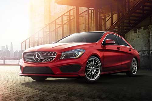 MERCEDES-BENZ CLA CLASS COUPE Car Leasing Deal