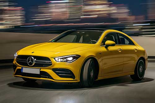 MERCEDES-BENZ CLA CLASS AMG COUPE