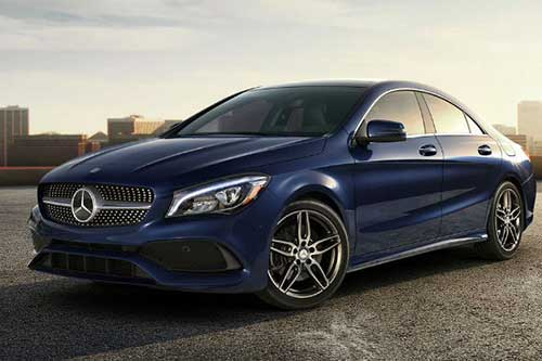 MERCEDES-BENZ CLA CLASS DIESEL COUPE Car Leasing Deal