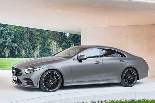MERCEDES-BENZ CLS DIESEL COUPE