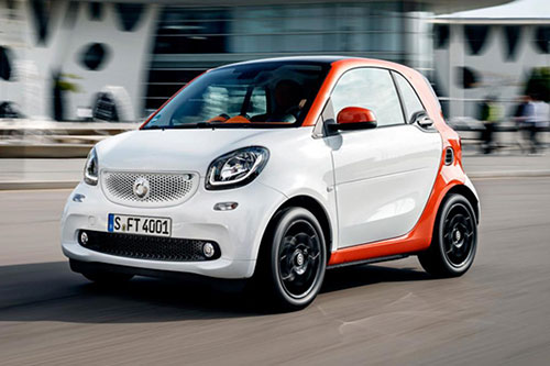 Smart Fortwo Coupe Leasing Contract Hire